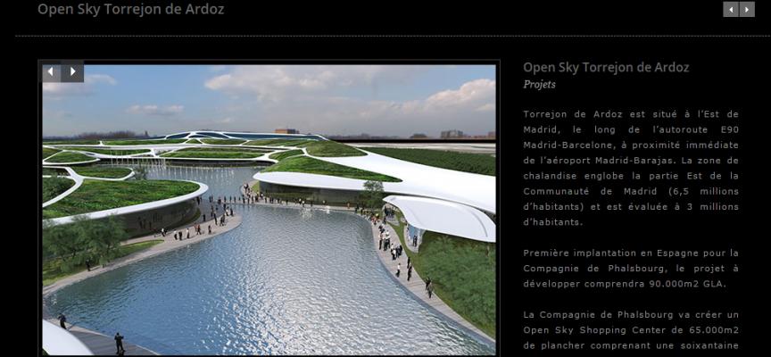 El centro comercial Open Sky creará 2.000 empleos en Torrejón de Ardoz