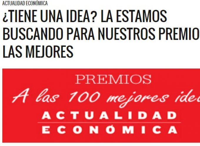 Premios a las 100 mejores ideas. Hasta el 12 de febrero de 2016