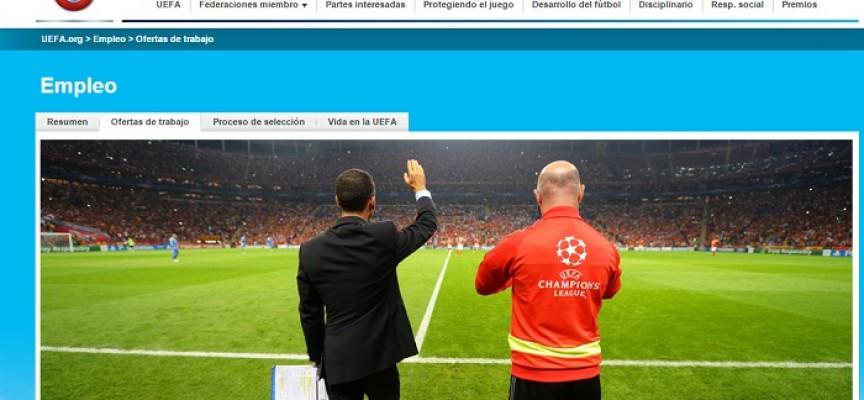 Únete al equipo de la EURO 2016. Últimas ofertas de empleo