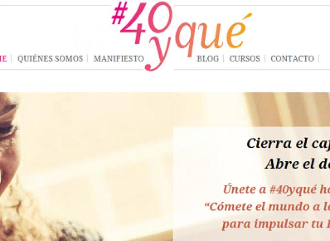 #40yqué, un movimiento para la reinvención profesional de las mujeres de más de 40 años