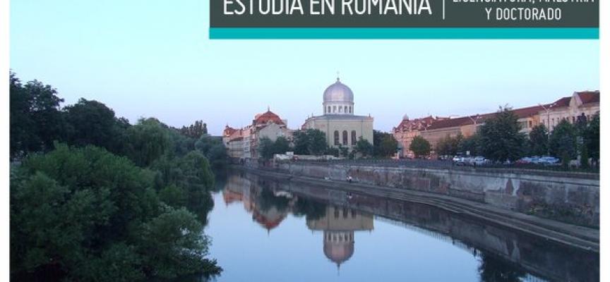 Becas internacionales para estudiar en Rumanía. Plazo: 15/03/2016