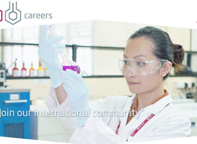Trabaja en esta farmacéutica presente en Europa, Asia y Estados Unidos
