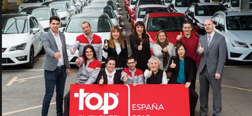 Directorio de los 73 mejores empleadores de España 2016. Top Employers.