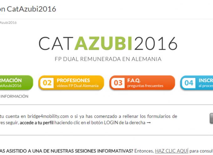 Catazubi 2016. FP Dual remunerada para más de 300 jóvenes