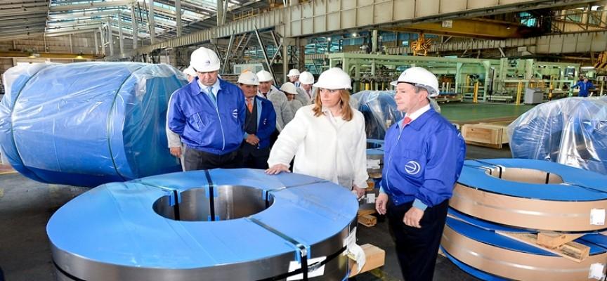 Acerinox invertirá 140 millones de euros en su planta del Campo de Gibraltar.
