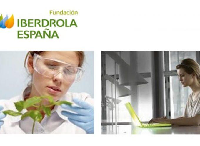 Becas Iberdrola para cursar Estudios de Máster en Energía y Medio Ambiente en España. Plazo 27/02/2017
