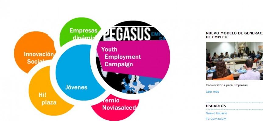Programa de inserción laboral de la Fundación Novia Salcedo para jóvenes titulados