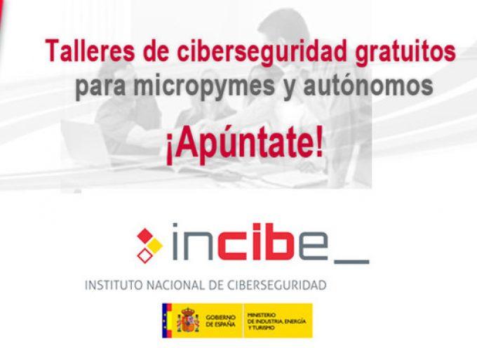INCIBE organizará talleres en toda España sobre ciberseguridad para pymes y autónomos