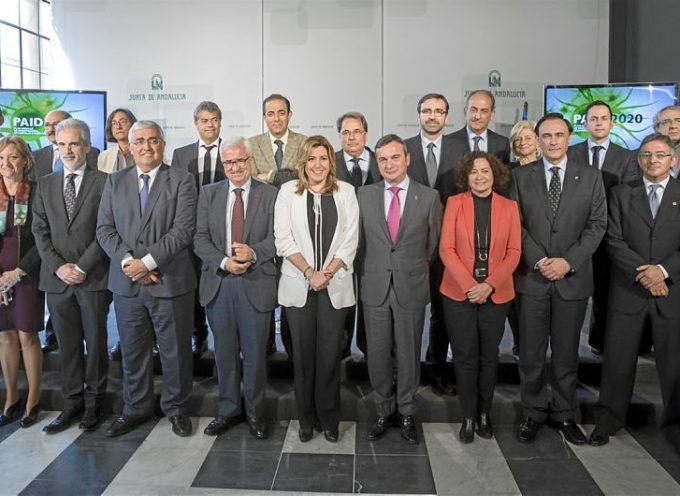 Andalucía facilitará la incorporación de 7.000 investigadores