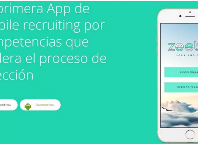 Zeebe Jobs, una app nacida para acelerar el proceso de selección