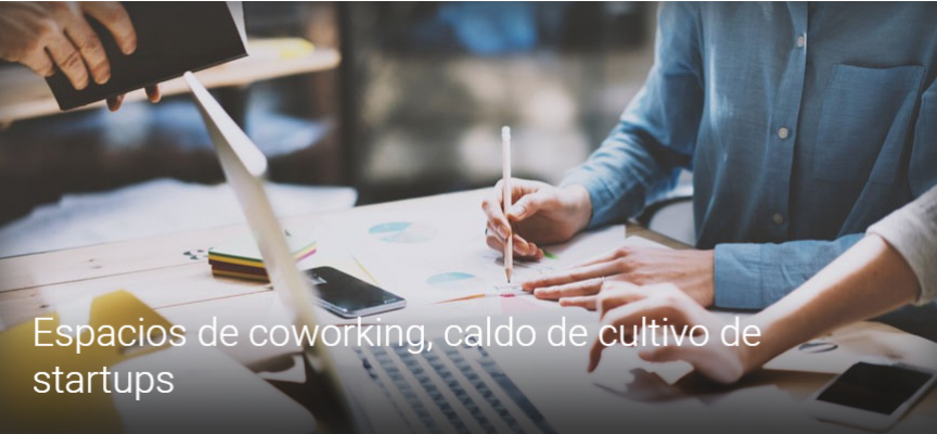 Espacios de coworking, caldo de cultivo de startups