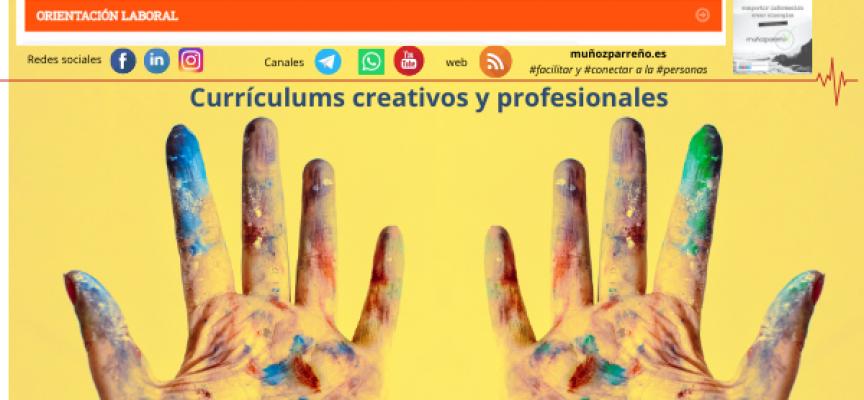 Currículums creativos y profesionales