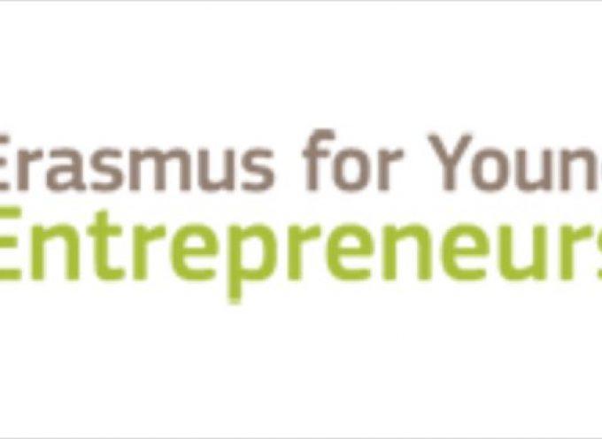 Nueva convocatoria Erasmus para Jóvenes Emprendedores