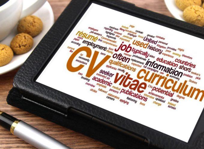 Consejos actuales para redactar un Currículum Vitae