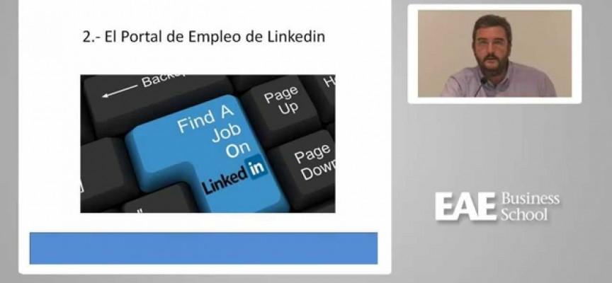 Webinar EAE con Pedro De Vicente: Exprimiendo Linkedin