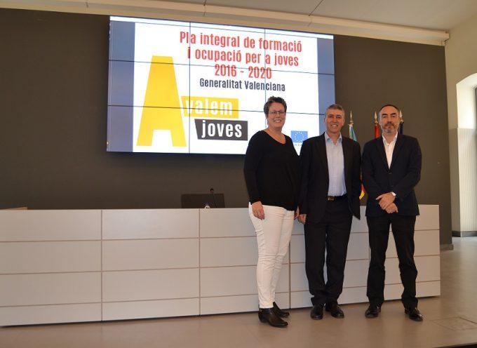 46.000 jóvenes de Valencia se beneficiarán del plan Avalem Joves