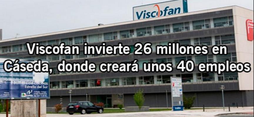 Viscofan creará empleos en sus nuevas plantas de Cáseda