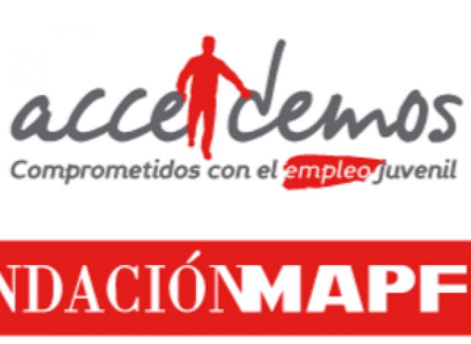 400 empleos gracias al programa ACCEDEMOS de la Fundación Mapfre