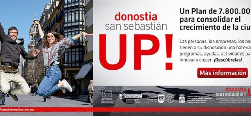 El plan San Sebastián UP! creará empleo en la ciudad