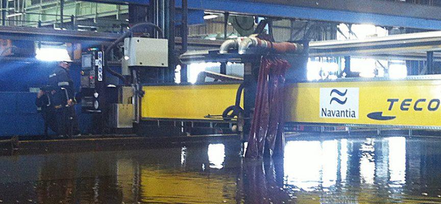 Navantia inicia la construcción en Puerto Real (Cádiz) de petroleros que generará 3.100 empleos