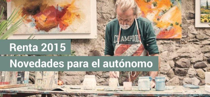 Si aún no has realizado la Renta 2015: las novedades para el autónomo