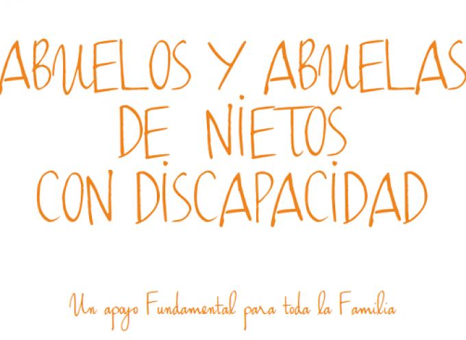 Manual para abuelos con nietos con discapacidad o trastorno del desarrollo. Gran material gracias a @nexefundacio