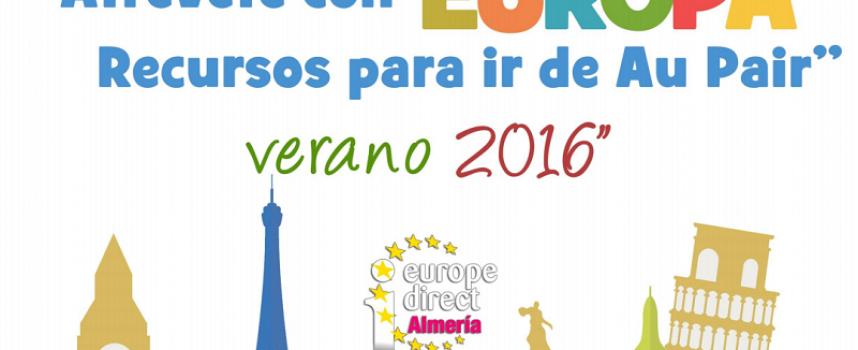 Recursos para ir de Au Pair Verano 2016. Atrévete con Europa