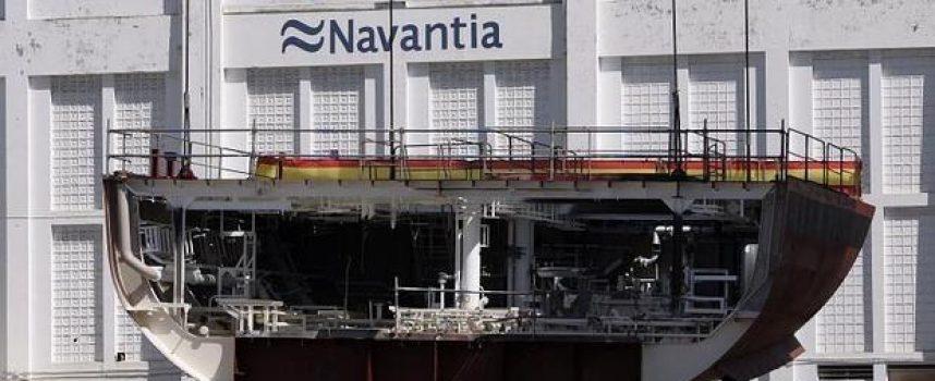 La construcción de cinco fragatas creará 7.000 empleos en Cádiz y Ferrol