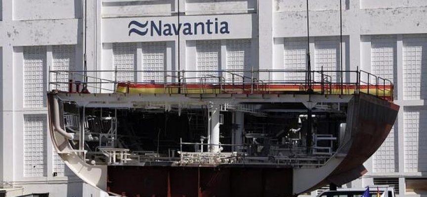 7.000 empleos anuales directos e indirectos de Navantia en Galicia