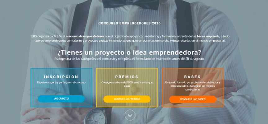 IEBS organiza  el concurso de emprendedores – Plazo: 31agosto2016