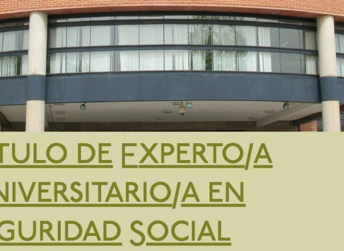 CURSO DE EXPERTO EN SEGURIDAD SOCIAL  (VI ED) – UNIVERSIDAD DE CASTILLA LA MANCHA