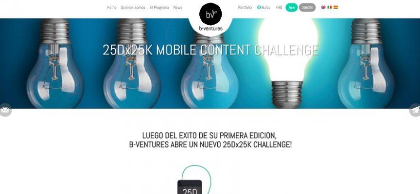 b-ventures lanza un programa para emprendedores que desarrollen aplicaciones móviles. Plazo 25/09/2016