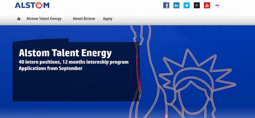 El programa Alstom Talent Energy ofrece formación y prácticas a recién titulados. Plazo: 10/10/2016