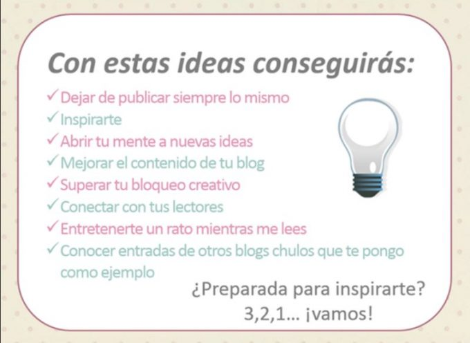 ¿DÓNDE ENCONTRAR IDEAS PARA TU BLOG?