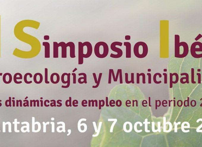 III Simposio ibérico de agroecología y municipalismo. Cantabria 6 y 7 de octubre 2016