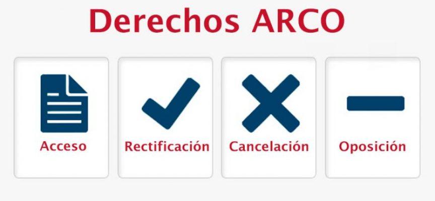 ¿Cómo debe asegurar tu ONG los derechos ARCO de los usuarios/as?