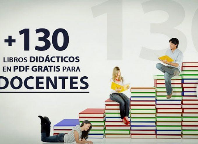 +130 libros didácticos en PDF para docentes