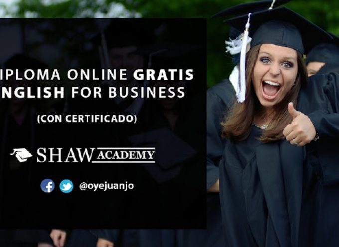 Diplomado online gratis de Inglés para Negocios (con certificado)