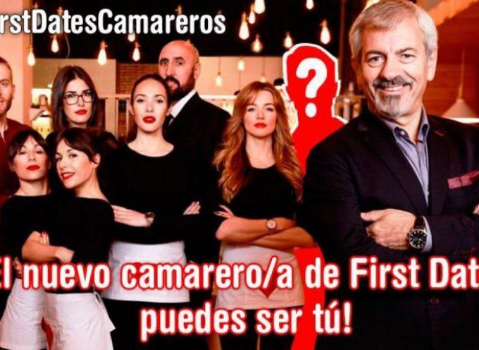 ¿Quieres trabajar como camarero en el programa First Dates de Cuatro?