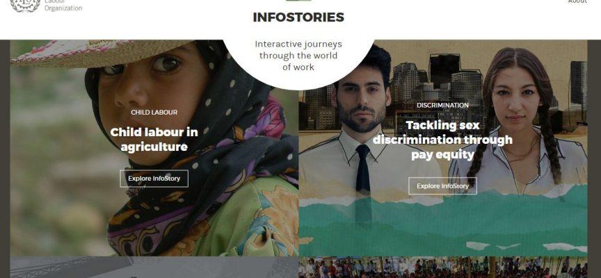 La OIT lanza un sitio web innovador sobre temas laborales