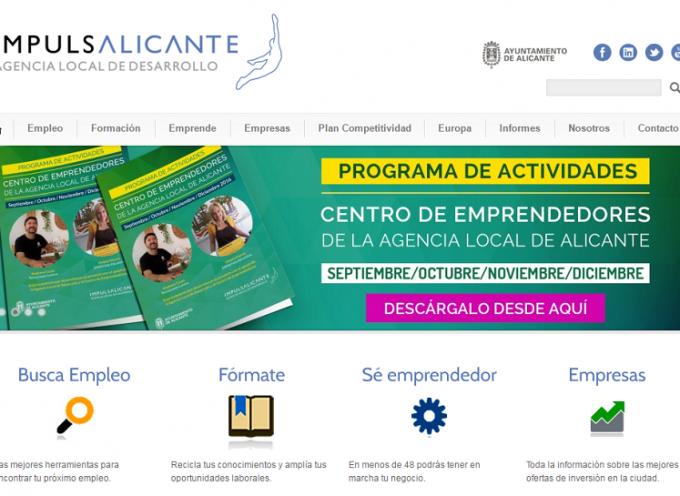 Amplia programación del Centro de Emprendedores de Alicante