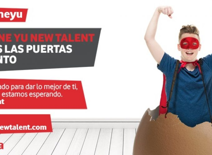 Becas Vodafone yu New Talent para Prácticas Profesionales