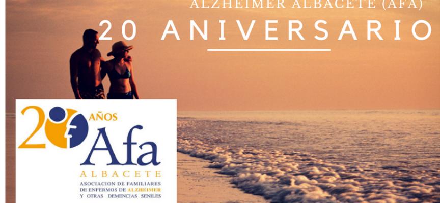 En Noviembre, AFA ALBACETE celebra su 20 Aniversario. #Alzheimer 23 de noviembre 2016 – #Afa-Albacete