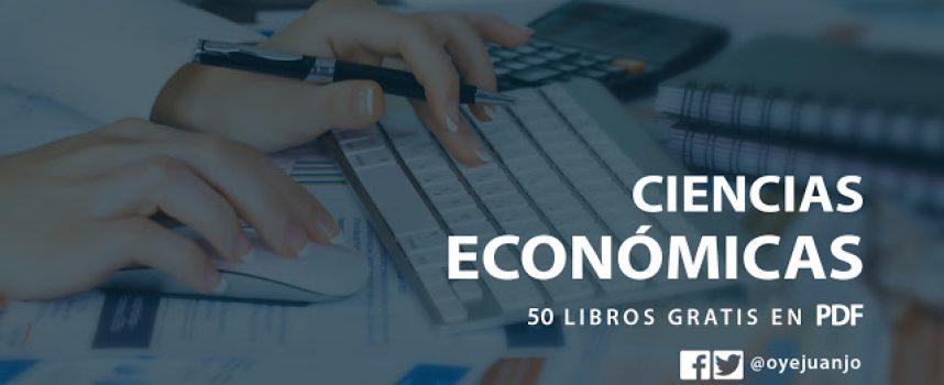 50 libros digitales gratis de Ciencias Económicas