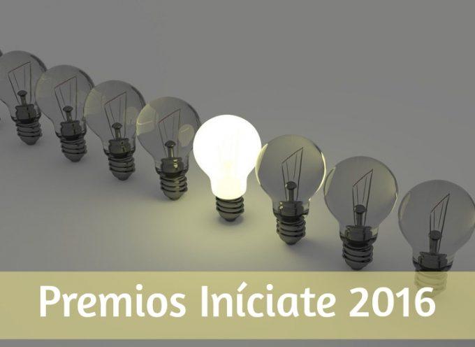 ¿Tienes una idea innovadora? preséntala a los Premios Iníciate 2016. Plazo 28/11/2016