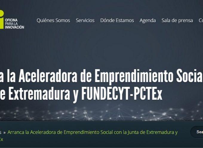 El programa de Emprendimiento Social de Extremadura contempla tres lineas de actuación