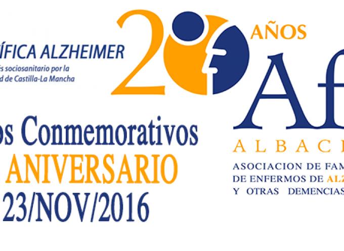 """AFA ALBACETE  """"20 Años caminando juntos"""" celebra su aniversario."""