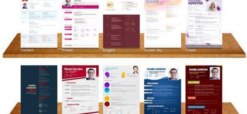 5 apps para hacer un currículum