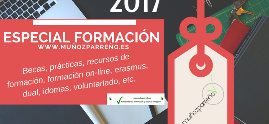 Especial Formación 2017 – (recursos, cursos, formación on-line, dual, idiomas, voluntariado, prácticas, becas, etc…)
