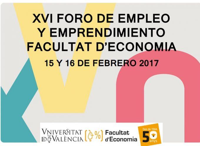 Foro de Empleo y Emprendimiento en Valencia. 15 y 16 de febrero 2017